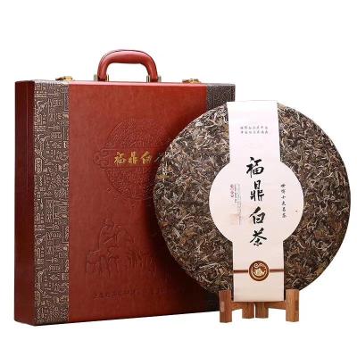 中秋送礼礼品福鼎白茶白牡丹茶饼高档礼盒装收藏级老白茶叶6斤装