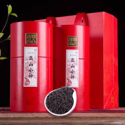 正片小种红茶茶叶特级散装浓香型礼盒装礼盒装武夷山桐木关红茶罐装500g