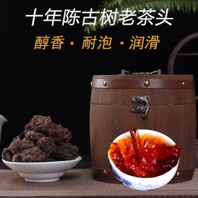 云南普洱茶熟茶老茶头勐海醇香古树08年老班章陈年宫廷散茶500g