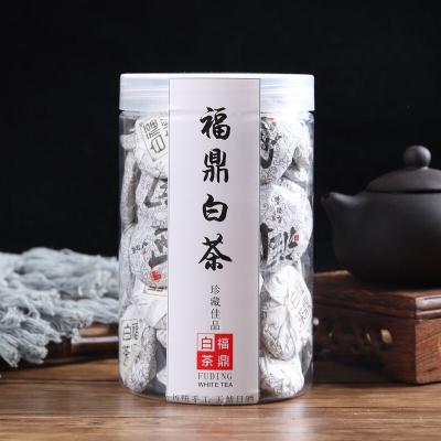 福鼎白茶寿眉茶叶小饼紧压茶500克散装罐装小包装老白茶贡眉