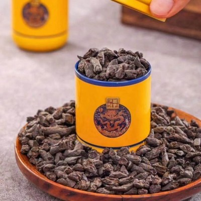 云南普洱茶熟茶碎银子普洱老茶头茶化石古树糯米香碎银子春茶500g礼盒装