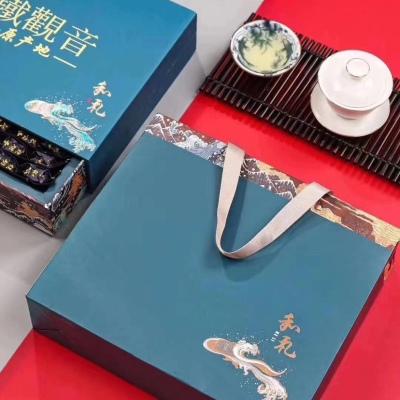 2021春茶上市茶中贵族高山兰花香铁观音纯手工采摘,香气幽雅,入口顺滑