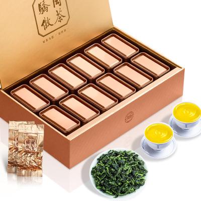 安溪铁观音 清香型茶叶罐装小包装乌龙茶送礼盒装500g 中秋送礼必备