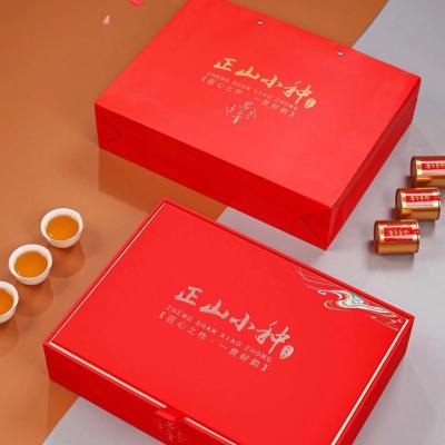 正山小种红茶罐装茶叶特级正宗浓香型红散装新茶高档礼盒装 500g