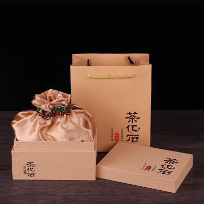 云南普洱碎银子茶花石特级糯米香茶化石普洱茶散装云南勐海茶礼盒500g