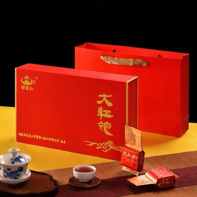 大红袍茶叶礼盒装特级正宗新茶武夷岩茶中秋节日送礼长辈高档佳品