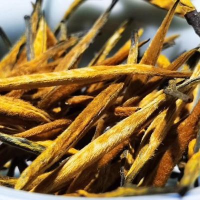 云南2020年春芽滇红散茶头春茶大金针昆明干仓滇红茶叶特级工夫红茶