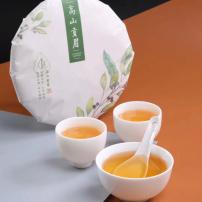 陈年老白茶茶饼350克包邮/福鼎白茶/贡眉茶饼/白茶饼