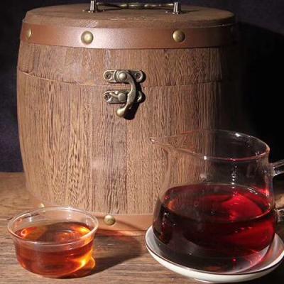 2016年珍珠老茶头,汤色透亮干净甜水好喝,500克一罐