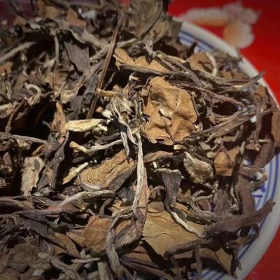 除热消痰暖心肺,十年奇香老白茶,消炎降火,药香十足500g