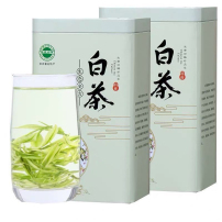 安吉白茶全芽尖高山白茶明前茶一罐125g