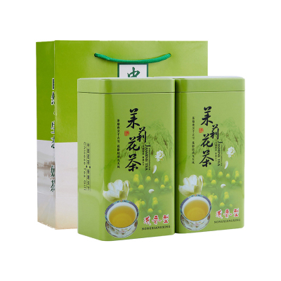 茉莉花茶 浓香 批发价 罐装 绿茶 茉莉飘雪 500g特级2020年新