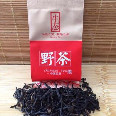 野生红茶武夷红茶高山原生态野生红茶100克/盒