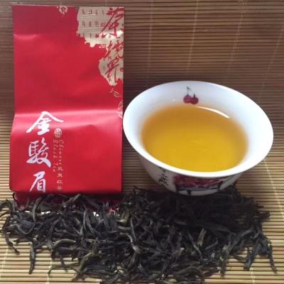 茉莉金骏眉高端红茶精品红茶桐木关金骏眉福州茉莉花茶100克