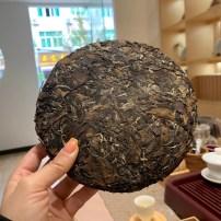 07、福鼎年份老茶饼,收藏价值高 枣香已出,正干仓存放