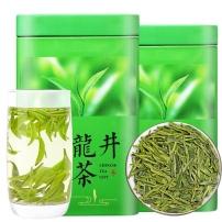 【一芽两叶龙井茶】雨前浓香新茶明前豆香绿茶500g罐装