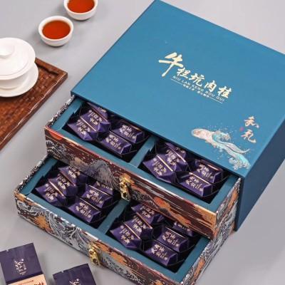 武夷山肉桂 高端礼盒 送礼 茶叶岩茶高山肉桂大红袍浓香型乌龙茶500g