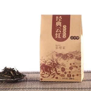 七彩云南 庆沣祥 茗悦红 经典云红 分享装 大叶滇红茶 散茶 200克