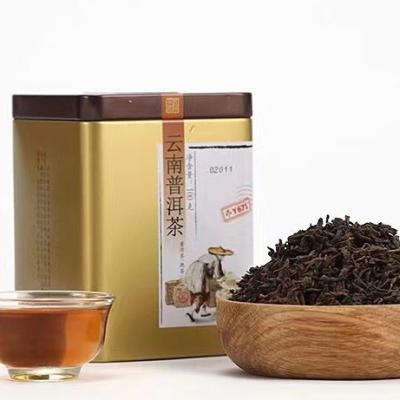 2019年中茶 Y671 散茶 熟茶 100克/罐×2罐