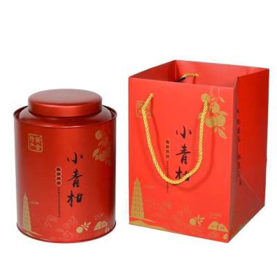 新会小青柑 传统生晒 特级 柑普茶 高档罐装 500克 批发价包邮1斤