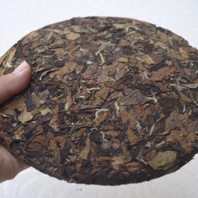 福鼎白茶2015老白茶茶饼350克带SC带检测报告干仓自然陈化可泡可煮