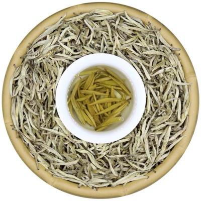 茉莉花茶2021新茶叶特级浓香型银针茶王毛尖针王白毫250g散装罐装