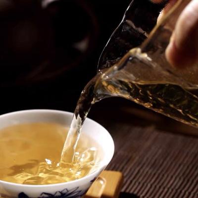 茶叶普洱茶景迈山秋古树生茶50克