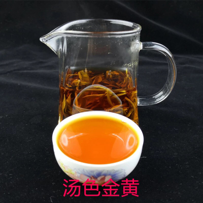 2021头春云南古树滇红茶 蜜香浓郁 凤庆古法金丝红茶 500g罐装