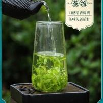 山水峨眉小叶苦丁茶特级正品青山绿水嫩芽罐装250g