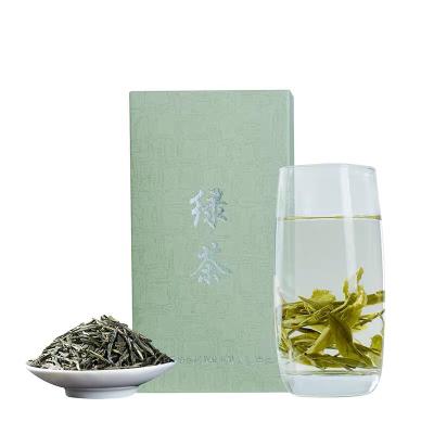 2021年春茶绿茶茶叶特级散装云南高山明前炒青新茶绿松针500克