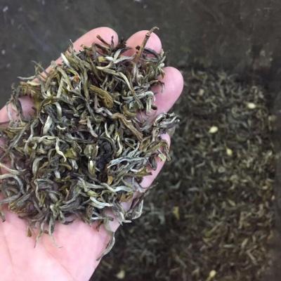 茉莉花茶炒花飘雪花毛峰茶叶散装2021新茶特级浓香500g耐泡