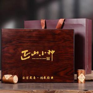 武夷山桐木关正山小种红茶特级浓香型礼盒装高档礼品2021新茶300g