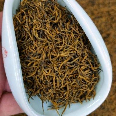 茶农直销 新茶金骏眉红茶茶叶特级正宗蜜香浓香型散装黄芽金俊眉500g