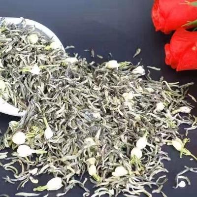 茉莉花茶2021新茶特级特种浓香型飘雪类茉莉金丝200g花茶瓶装