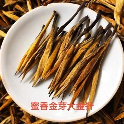 2021正宗云南凤庆滇红蜜香金芽大金针特级古树红高档红茶浓香型500g