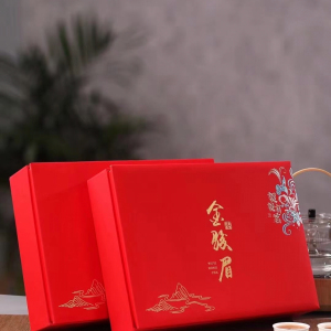 金骏眉红茶茶叶特级浓香型武夷山金俊眉正山小种礼盒装新茶送长辈