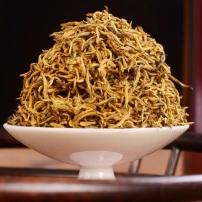 2021纯黄单芽新茶正宗武夷山金骏眉红茶特级浓香黄芽500g罐装包邮