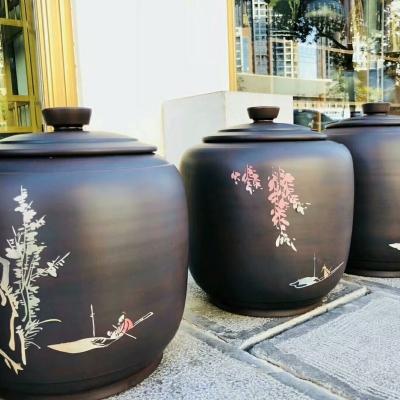 七饼缸/茶叶罐