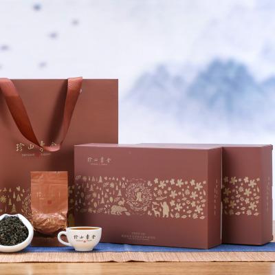 珍山素全浓香型铁观音乌龙茶礼盒装2019新茶ZS1000N丽广茶行