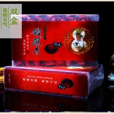 黔香新茶铁观音茶叶浓香型兰花香高山铁观音礼盒装乌龙茶500g两盒装