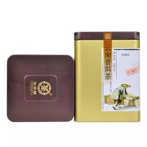 中茶云南普洱茶小金罐装100g(偏远地区不包邮)