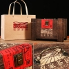 武夷乌龙茶岩韵大红袍浓香型肉桂茶叶木质礼盒装袋装大红袍茶400克