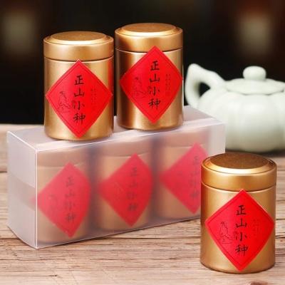 拍下15.9元 正山小种茶叶 武夷山红茶 小罐装 一份3罐 散装新茶