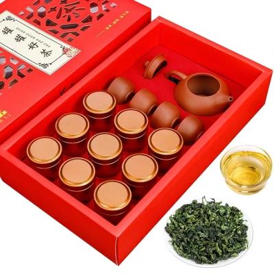 一品茗 安溪铁观音茶叶 浓香型礼盒装新茶 秋茶兰花香乌龙茶绿茶