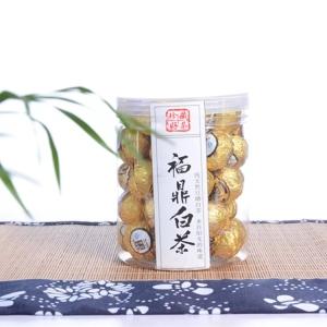 福鼎白茶2015年龙珠茶寿眉罐装