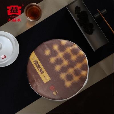 大益普洱茶益原素熟茶357g  第三代智能发酵技术2018年1801批
