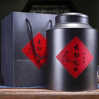大红袍茶叶特级 500g新茶浓香型散装武夷山岩礼盒肉桂水仙乌龙茶罐装