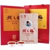 黑茶湖南安化白沙溪一级料2013年老茶润之福金花茯茶礼盒装1000g