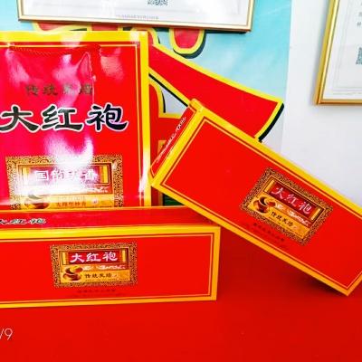 兰花香大红袍贡茶大红袍礼盒装乌龙茶炭焙大红袍熟茶浓香型茶叶1斤2条包邮
