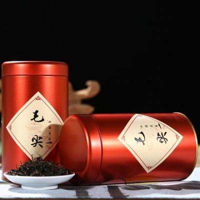 毛尖绿茶 新茶 茶叶日照绿茶 高山云雾茶炒青工艺 浓香型罐装